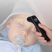 Инфракрасный бесконтактный цифровой термометр Xiaomi Youpin iHealth T09 (Черный), фото 3