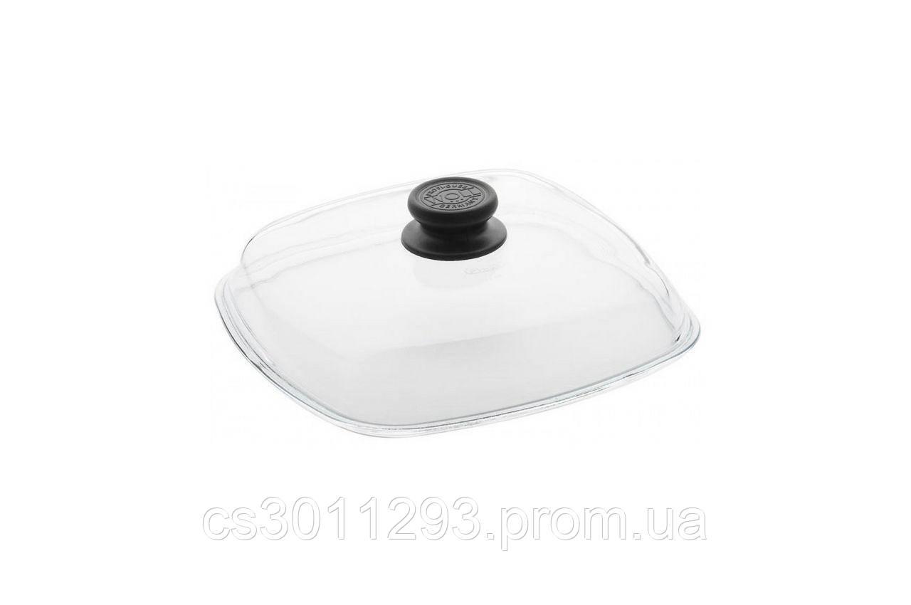 Крышка стеклянная Биол - 280 мм, квадратная
