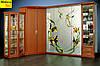 Встроенная в угловой шкаф кровать (трансформер)  для спальни