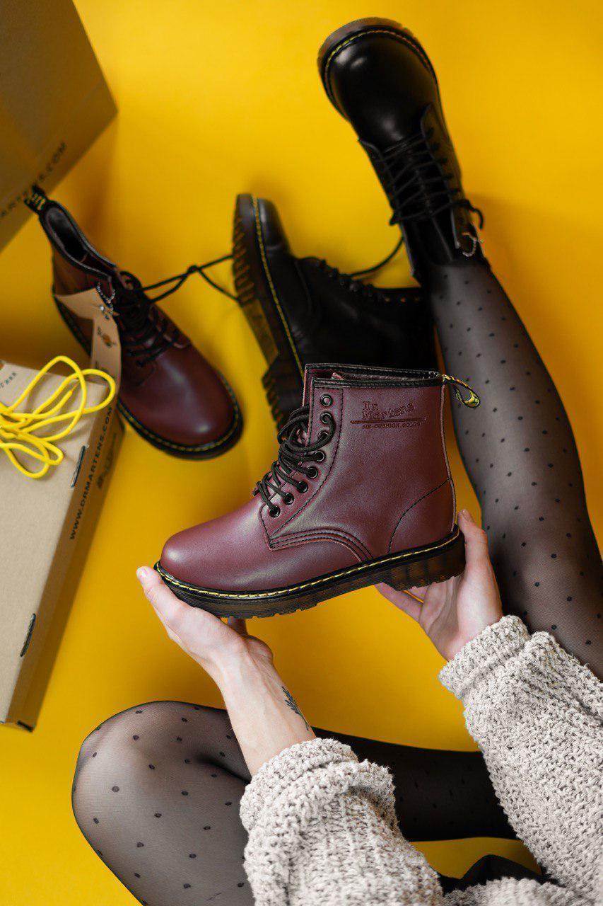 Стильные ботинки DR. Martens На меху (ДЕМИСЕЗОН)