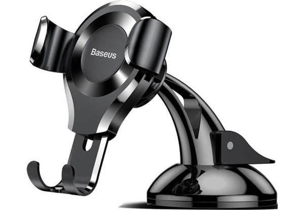 Автомобильный держатель Baseus Osculum Gravity Black