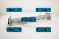 Труба замінник каталізатора 3302 ЗМЗ-40524 (з отвором під датчик) (3302-1206768)