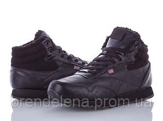 Підліткові чорні кросівки (р39)