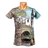 Интересная футболка для мужчин Mastiff - №2388