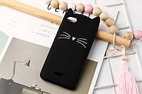3d Чехол Бампер для Xiaomi Redmi 6a  резиновый Кот