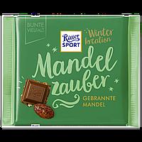 Шоколад Ritter Sport Caramelised Almonds молочный с карамелизованным миндалём 100г (1ящ/12шт)