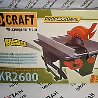 Стационарная настольная циркулярная пила ProCraft KR2600
