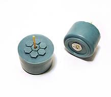 Синие чайные свечи из пчелиного воска Tea Lights Candles без гильзы