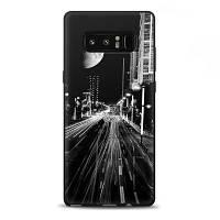 """Чехол для Samsung Galaxy Note 8 N950, силиконовый бампер с рисунком """"Город"""""""