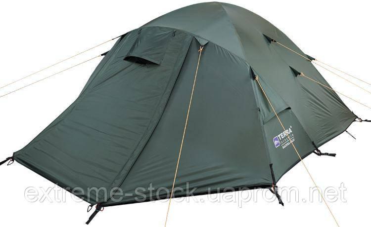 Палатка Terra Incognita Baltora 4 темно-зелений