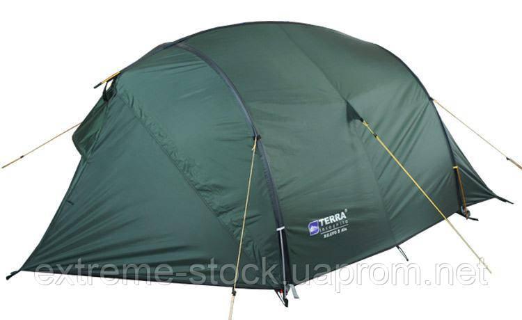 Палатка Terra Incognita Bravo 3 Alu темно-зелений