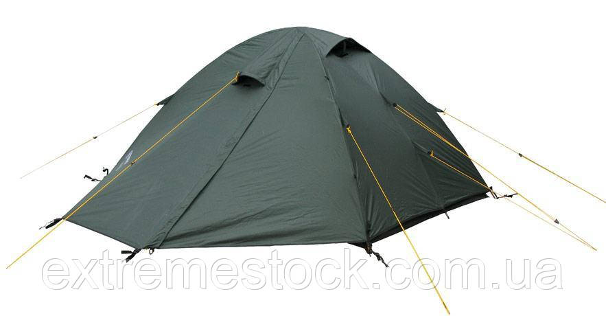 Палатка Terra Incognita Platou 2 темно-зелений