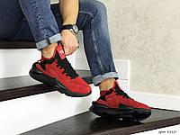 Кросівки чоловічі в стилі  Adidas  Y-3   Kaiwa   червоні  ТОП якість
