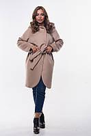 Кашемировое пальто женское батал, 46/M, 48/L, 50/L, 52/XL, 54/XXL., 2 цвета