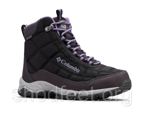 Зимние женские ботинки Columbia Firecamp Boot WP BL1766-010