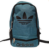 Рюкзак городской спортивный в стиле Adidas синий, фото 1