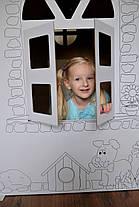 Картонный домик для рисования для детей , фото 2