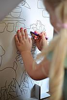 Картонный домик для рисования для детей , фото 3
