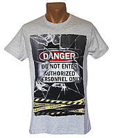 Прикольная мужская футболка - №5338