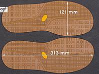 Резиновая подошва/след для обуви BISSELL арт. 115, цв. тропик