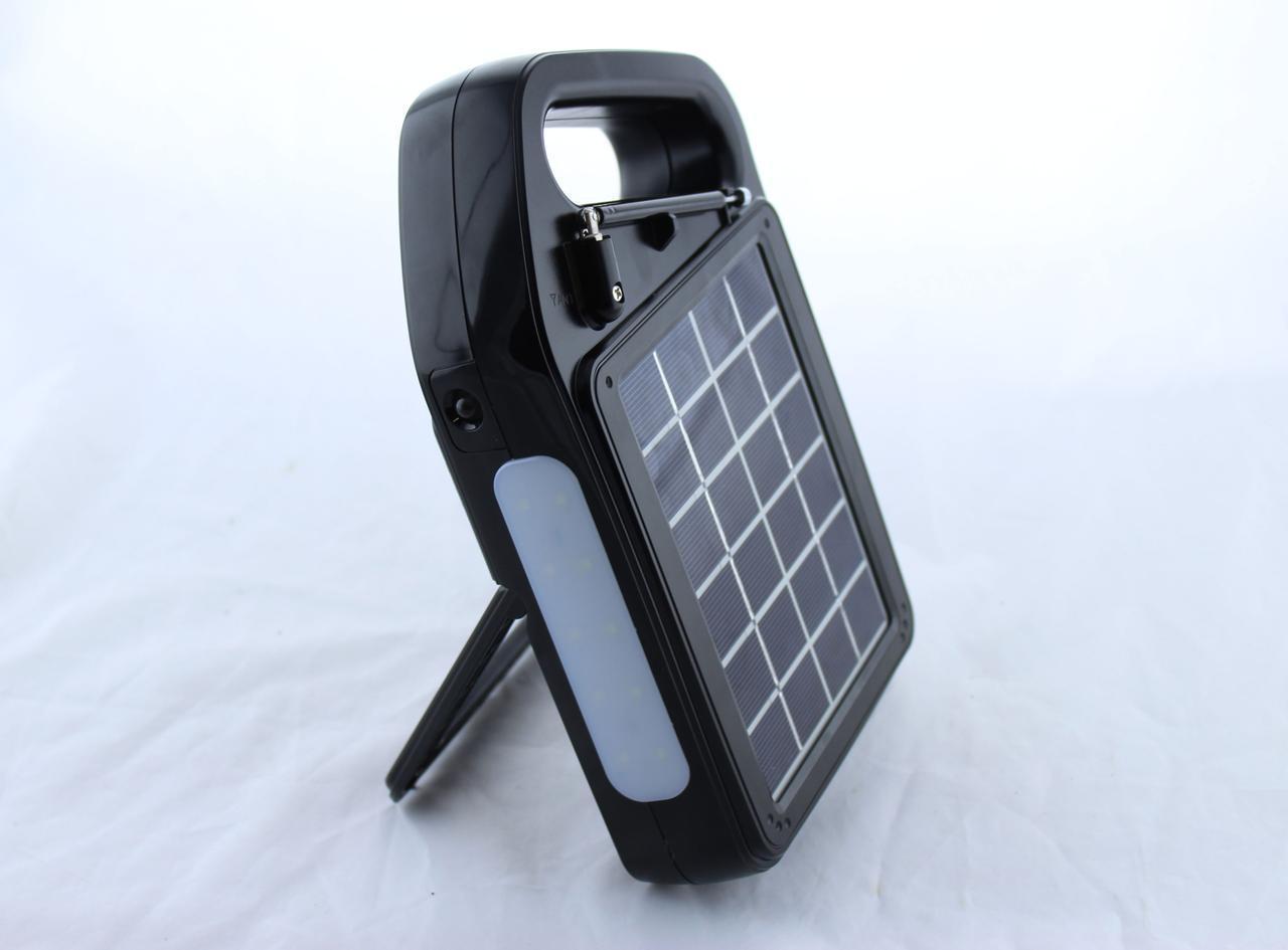 Радио GOLON RX 499BT с солнечной зарядкой / MP3 / Bluetooth / фонарь / TF slot и USB разъем
