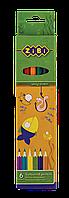 Набор цветных карандашей ZIBI 6 цветов (ZB.2400)