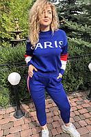 Костюм PARIS в стиле спорт-шик LUREX - синий цвет, S (есть размеры), фото 1