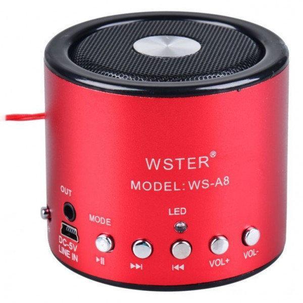 Колонка портативная WSTER WS-A8