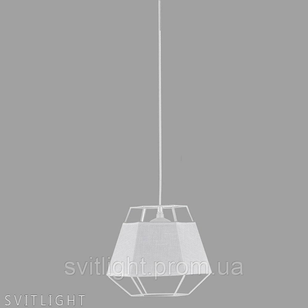 Підвісний світильник на 1 лампочку 29-3124/1 WT N Svitlight