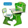 Детская парта со стульчиком трансформер Bambi HB 2070 (стол-парта растишка)