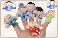 Пальчиковый кукольный театр/ цена за упаковку/ 6шт