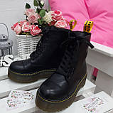 Ботинки кожа Mart!ins Lace 7183-28, фото 4