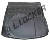 Коврик в багажник Audi A6 sedan (04-) (пластиковый) L.Locker