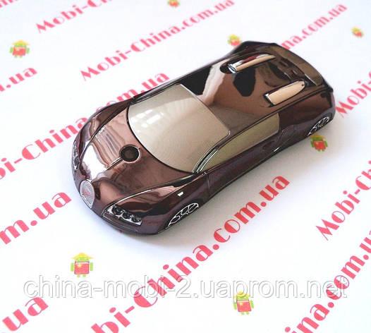 Машина-телефон Bugatti Veyron C618 dual sim TV, фото 2