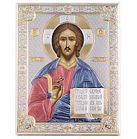 """Ікона срібна Denarius """"Господь Вседержитель"""" (20х26см) 85300 6LCOL"""