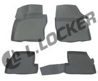 3D Коврики в салон Ford Focus III (11-) (полимерные) L.Locker