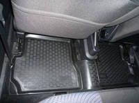 Коврики в салон Ford Fusion (02-) (полимерные) L.Locker, фото 1