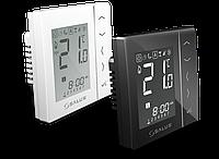 Беспроводной, сенсорный термостат VS10RF W/B (белый/черный) для скрытой проводки