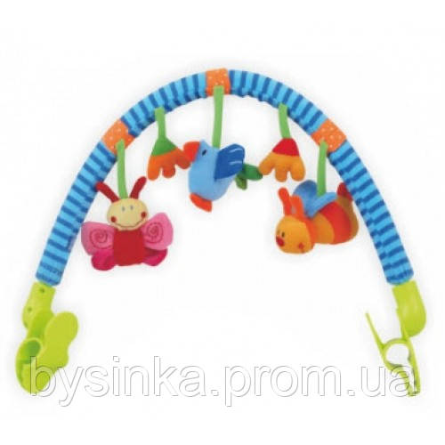Дуга для коляски, кроватки Baby Mix Бабочка TE-9027-94B