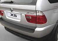 Накладка на задний бампер BMW X5 (E53) 2000-2006, ABS-пластик