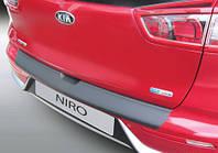 Накладка на задний бампер Kia Niro 2016-, ABS-пластик RBP870, фото 1