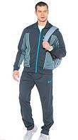 Зимний спортивный костюм, костюм на флисе Nike, темно-серый, с3064