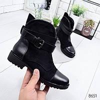Ботинки женские Gigi черные , женская обувь
