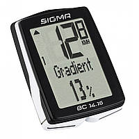 Велокомп'ютер Sigma Sport BC 14.16 Black
