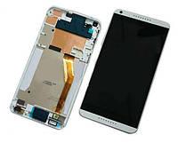 HTC desire 816 white LCD, модуль, дисплей с сенсорным экраном (в сборе с рамкой)