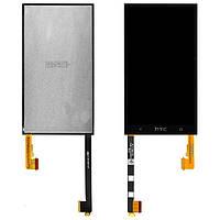 HTC One M7 801e black LCD, модуль, дисплей с сенсорным экраном