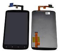 HTC Pyramid LCD, модуль, дисплей с сенсорным экраном (в сборе с рамкой)