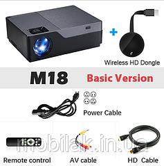 AUN проектор M18UP Basic Version + Wireless HD Dongle