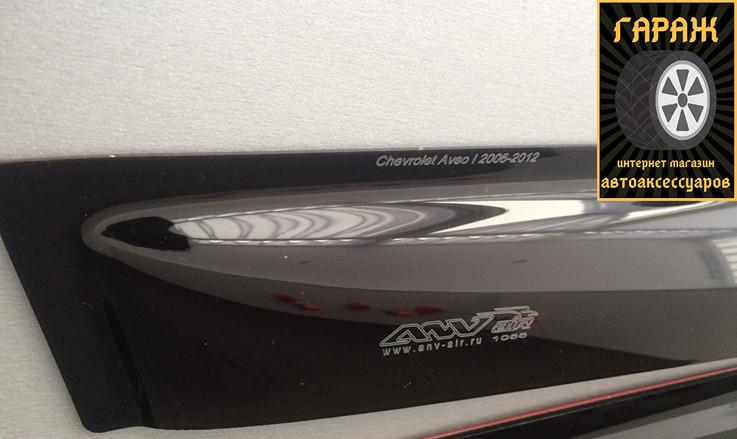 "Дефлекторы окон Mitsubishi Outlander XL 2007-2012 на скотче ""Anv-Air"" ДК1130Т"