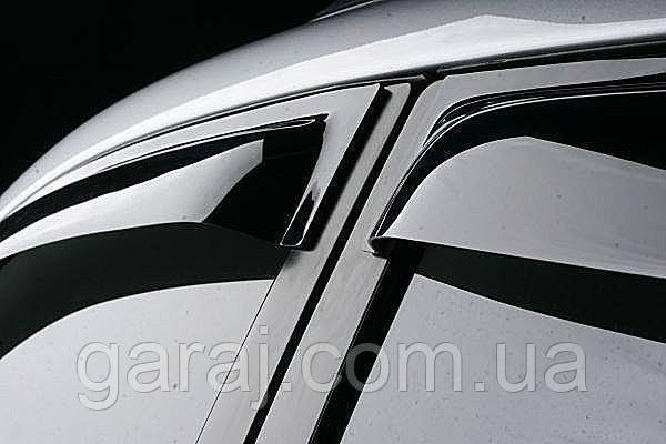 "Дефлекторы окон Fiat Scudo 07-17/Pegeout Expert/Citroen Jumpy скотч ""AV-Tuning"""